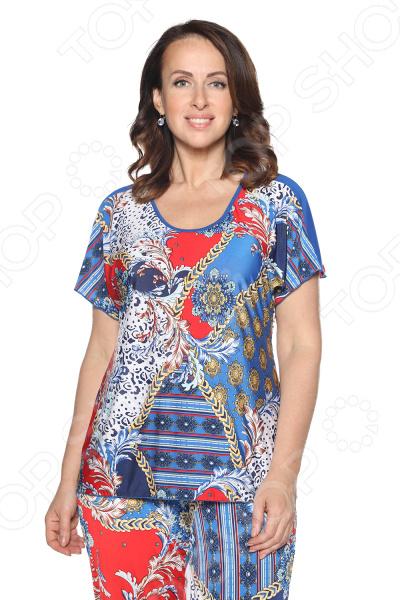 Блуза Лауме-Лайн «Упоительный момент». Цвет: васильковый блуза лауме стиль заветное признание цвет черный
