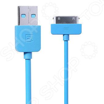 Кабель REMAX Light Cable для iPhone 4 Кабель REMAX Light Cable для iPhone 4 /Голубой