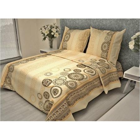 Купить Комплект постельного белья Fiorelly «Орнамент. Леопард». 1,5-спальный