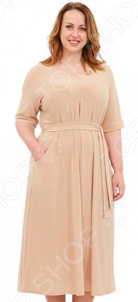 Платье Лауме-Лайн «Афродита». Цвет: бежевый цена 2017