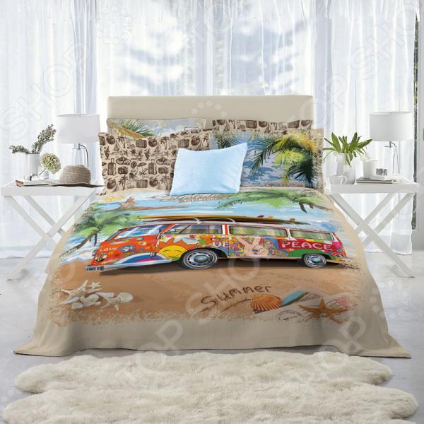 Комплект постельного белья Mona Liza Bus одежда для сна