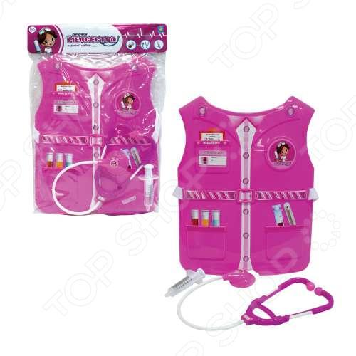 Игровой набор для ребенка 1 Toy «Костюм Профи с жилетом - Медсестра»