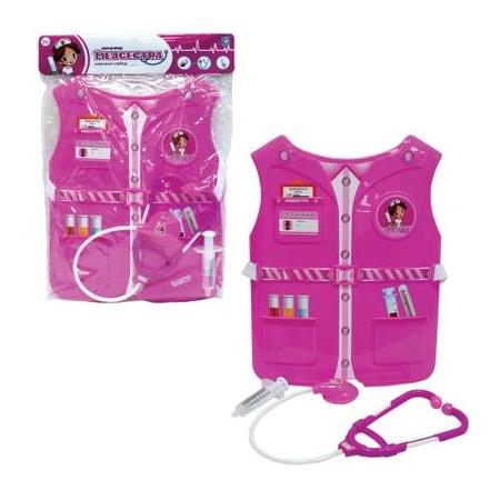 Купить Игровой набор для ребенка 1 Toy «Костюм Профи с жилетом - Медсестра»