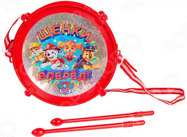 Музыкальная игрушка Paw Patrol со световым модулем «Барабан»