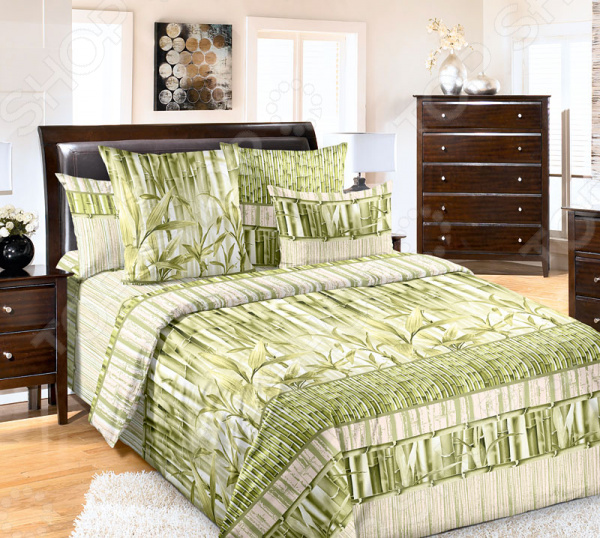 Комплект постельного белья Белиссимо «Бамбук». Евро