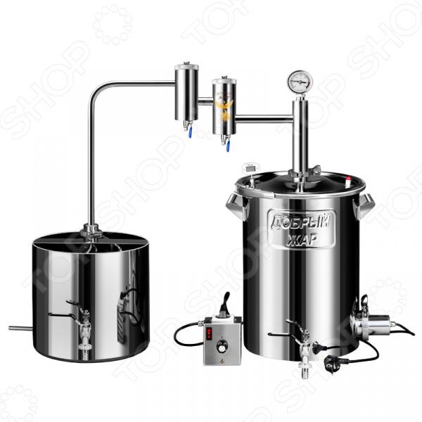 Дымогенератор Добрый Жар с осаждающим фильтром