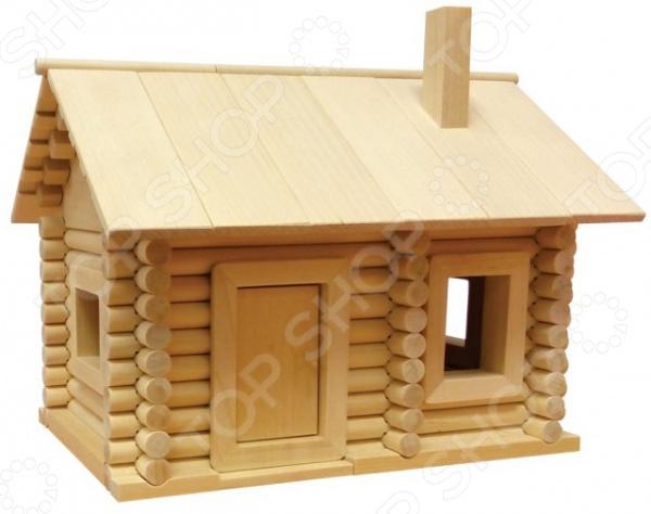 Конструктор деревянный Теремок «Сказочная избушка»