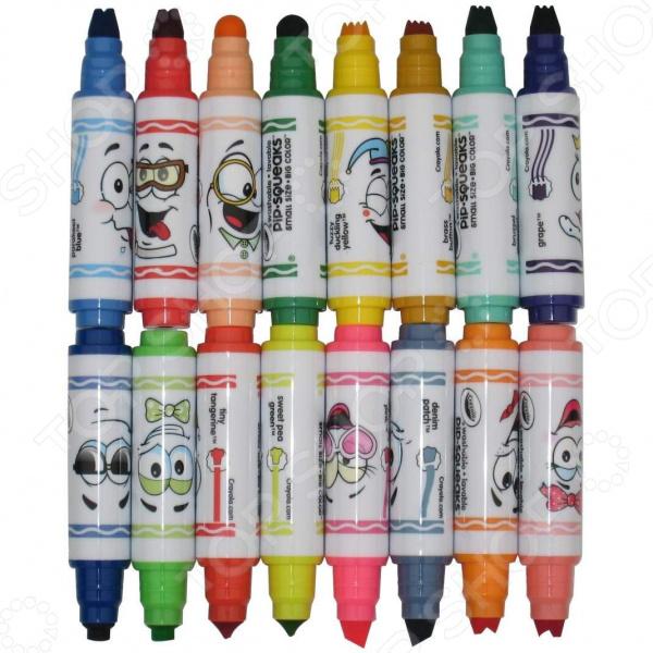 Набор фломастеров Crayola 58-8709 блестящие фломастеры crayola 5 цветов 58 8645