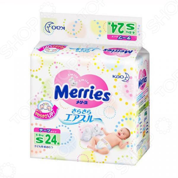 Подгузники Merries S (4-8 кг) Подгузники Merries S (4-8 кг) /