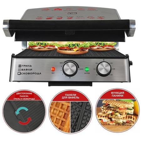 Купить Гриль GFGRIL GF-180 Waffle&Grill&Griddle