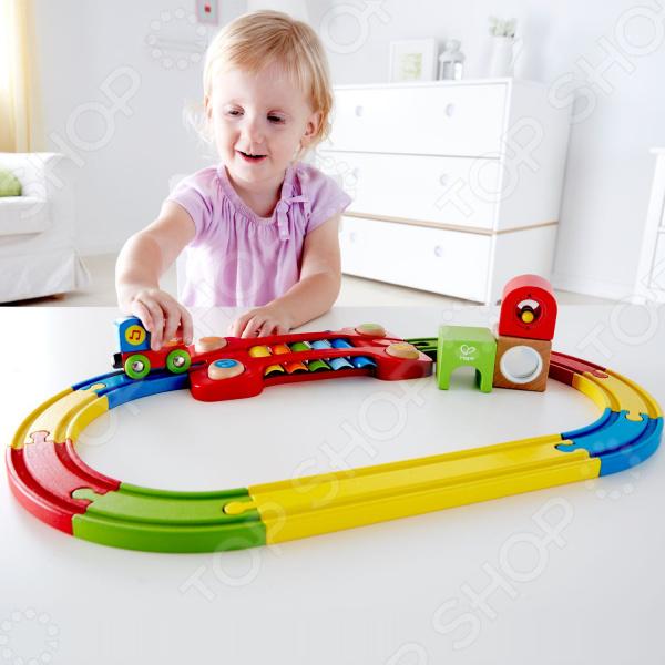 Музыкальная железная дорога Hape Sensory
