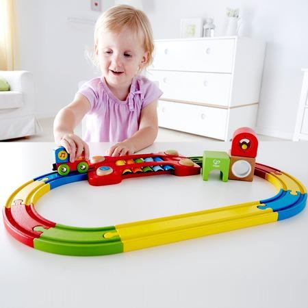 Купить Музыкальная железная дорога Hape Sensory