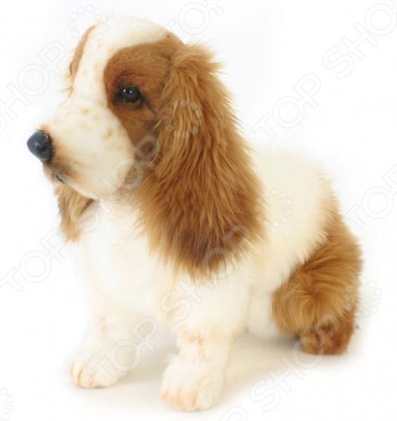 Мягкая игрушка Hansa «Кокер-Спаниель» собака кокер спаниель в туле