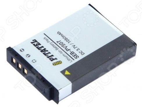 Аккумулятор для камеры Pitatel SEB-PV507 для Nikon Coolpix AW100/AW110/AW120/P310, 1050mAh