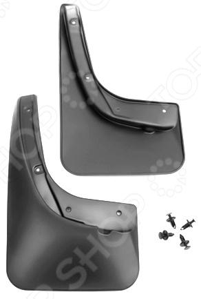 Брызговики задние Novline-Autofamily KIA Sportage NEW 2010 внешние аксессуары myhung kia sportage 2010 2011 r abs 4