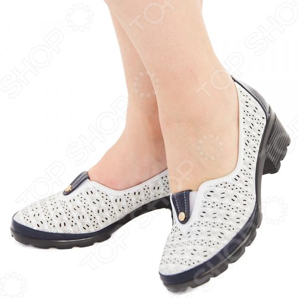 Туфли Эго «Мадам Софи». Цвет: белый