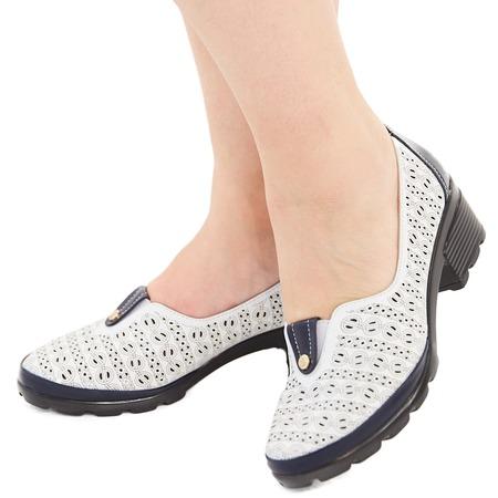Купить Туфли Эго «Мадам Софи». Цвет: белый