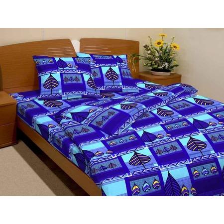 Купить Комплект постельного белья Fiorelly «Листья». 1,5-спальный