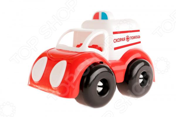 Машинка игрушечная Пластмастер «Скорая помощь»