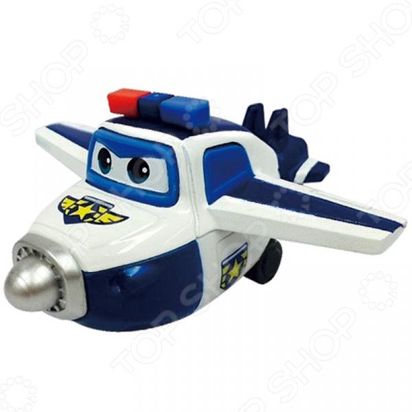 Самолет игрушечный Super Wings «Пол» игровые наборы super wings набор аэропорт