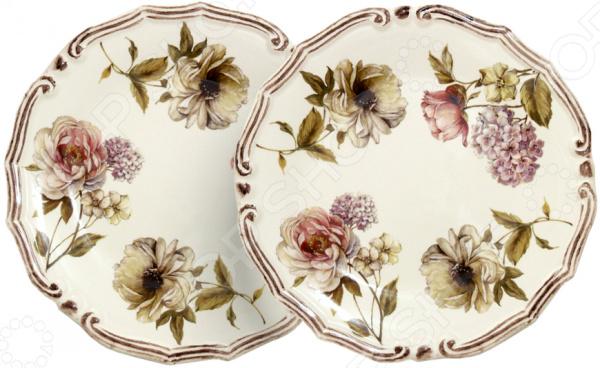 цены Набор десертных тарелок LCS «Сады Флоренции»
