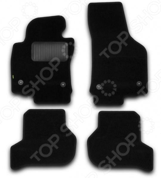 Комплект ковриков в салон автомобиля Klever Standart для SEAT Leon хэтчбек, 2007 атс ip yeastar standart