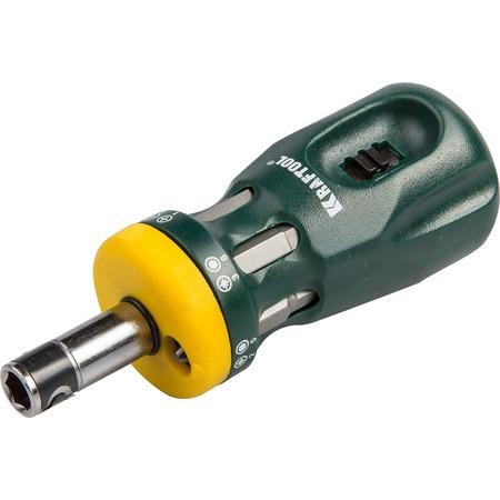 Купить Отвертка реверсивная с битами Kraftool Bit Lock 26161-H13