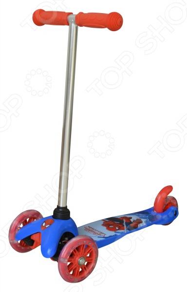 Самокат трехколесный MARVEL Spider-Man детский самокат fenix cms031