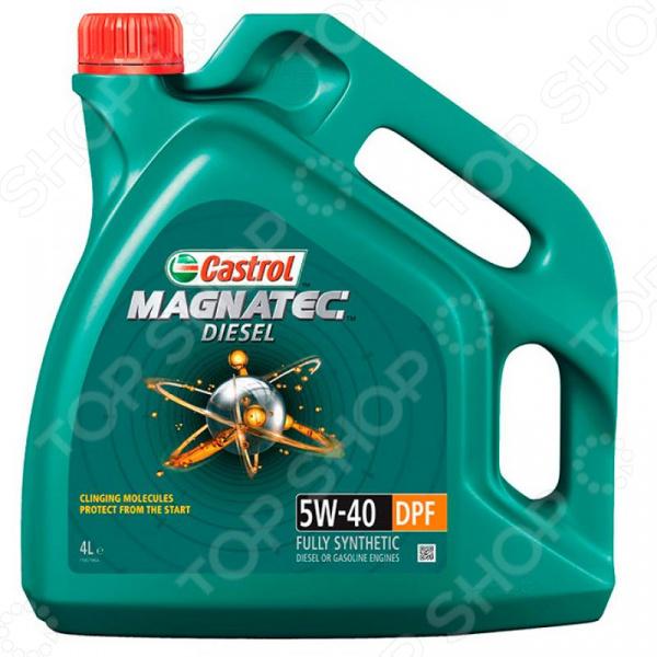 Масло моторное синтетическое Castrol CAS-MAGN-5W40DPF-4L цена и фото