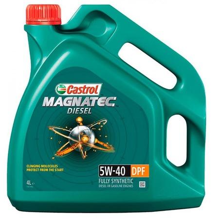 Масло моторное синтетическое Castrol CAS-MAGN-5W40DPF-4L