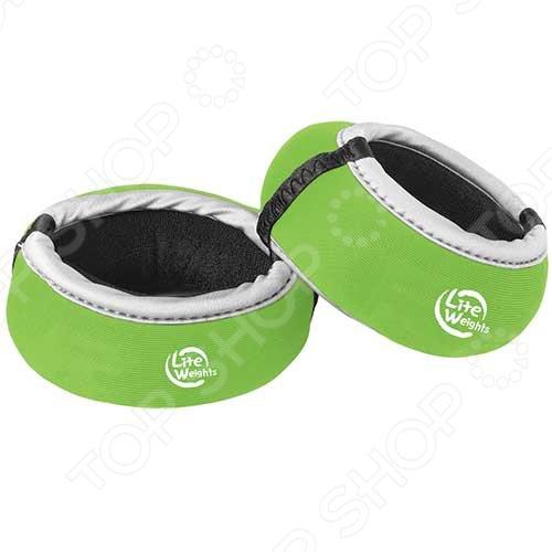 Утяжелители для рук Lite Weights Утяжелители для рук Lite Weights 5825LW /Салатовый