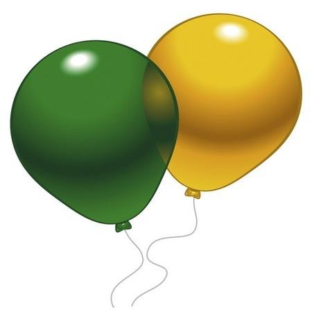 Купить Набор воздушных шаров Everts «Разноцветный кристалл». Количество: 10 предметов