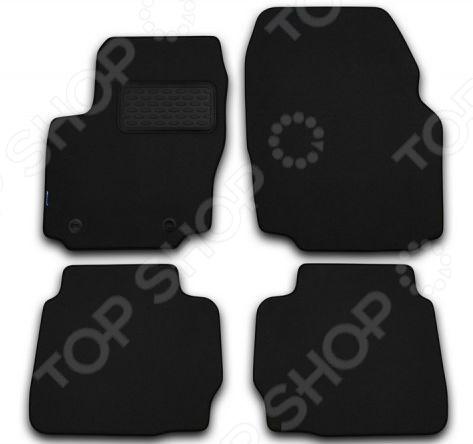 Комплект ковриков в салон автомобиля Novline-Autofamily Toyota Land Cruiser Prado 120 2002-2009 внедорожник. Цвет: черный toyota funcargo в омске