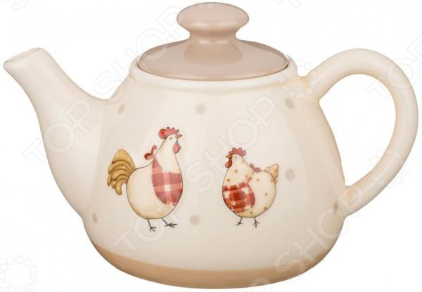 Чайник заварочный Lefard «Сельский домик» 140-235 elc мышиный домик чайник серия счастливая страна