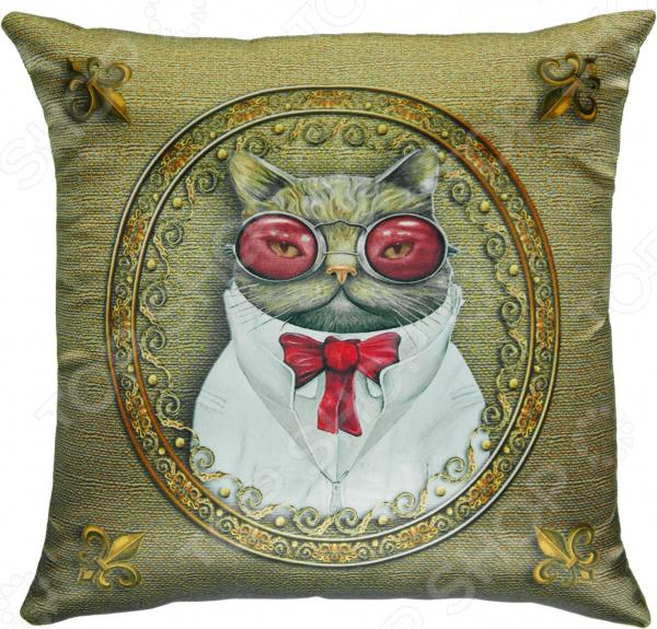 Подушка декоративная Gift'n'Home «Кот пижон». В ассортименте