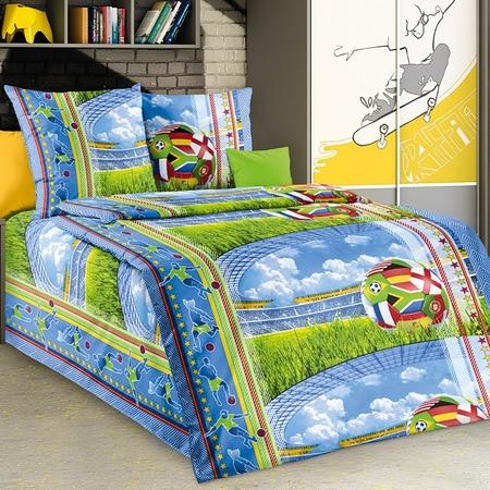 Купить Комплект постельного белья Белиссимо «Матч». 1,5-спальный
