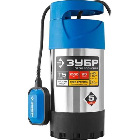 Купить Насос погружной дренажный для чистой воды Зубр «Профессионал» НПЧ-Т5-1000-С
