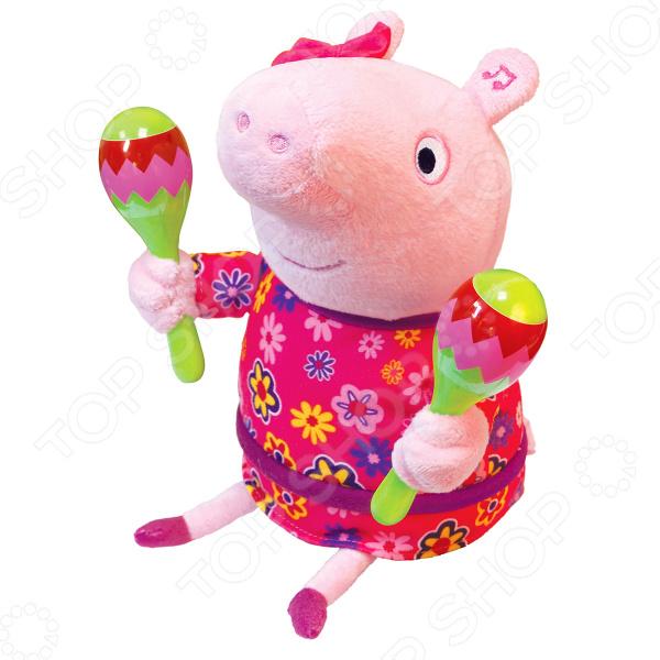 Мягкая игрушка интерактивная Peppa Pig «Пеппа с маракасами»