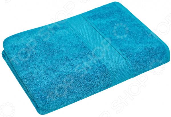 Полотенце махровое Василиса «Конфетти». Цвет: голубой