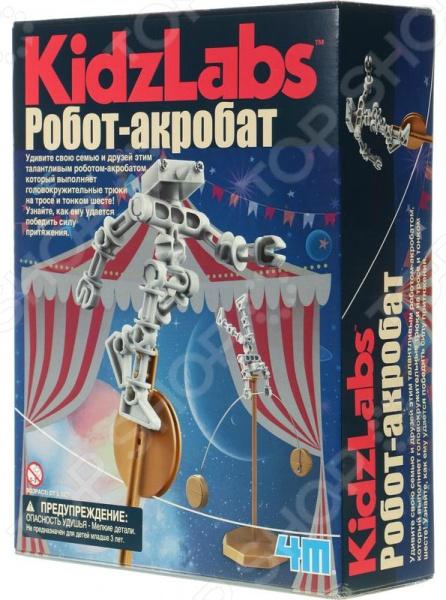 Набор для изобретателей 4M «Робот акробат»