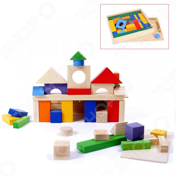 Конструктор деревянный PAREMO PE117-9. Количество элементов: 51 шт Конструктор деревянный PAREMO PE117-9. Количество элементов: 51 шт /