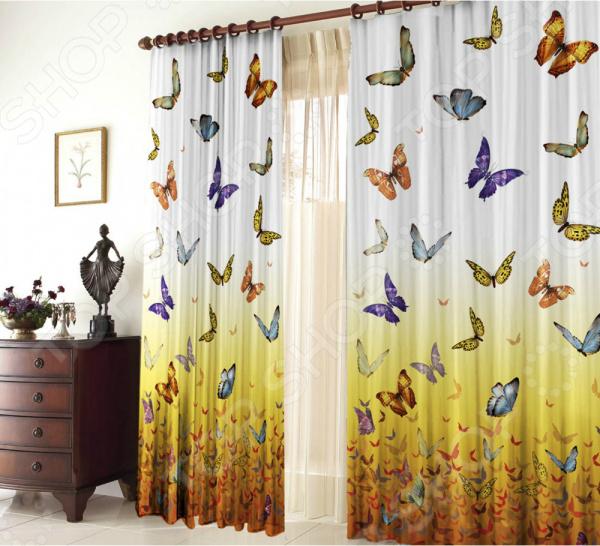 Batterfly Фотошторы Zlata Korunka Butterfly