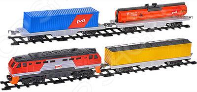 Набор железнодорожный Играем Вместе «Товарный поезд РЖД»