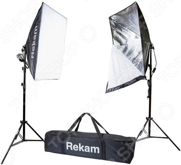 Комплект осветителей флуоресцентных Rekam CL-250-FL2-SB Kit rekam cl 250 fl2 sb kit