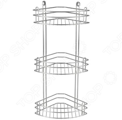 Полка для ванной угловая Rosenberg RUS-385021-3 полка угловая для ванной rosenberg rwr 385013