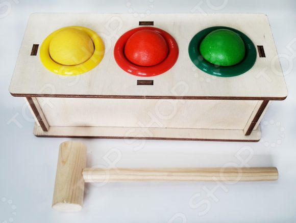 Игрушка-стучалка WoodLand 22117