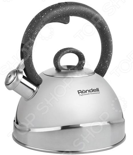 Чайник со свистком Rondell Marmara