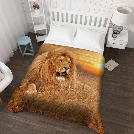 Купить Покрывало стеганное Сирень «Король лев»