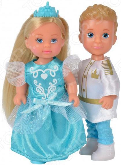 Набор кукол Simba «Тимми и Еви - принц и принцесса» набор кукол simba еви и тимми в карете 5738516