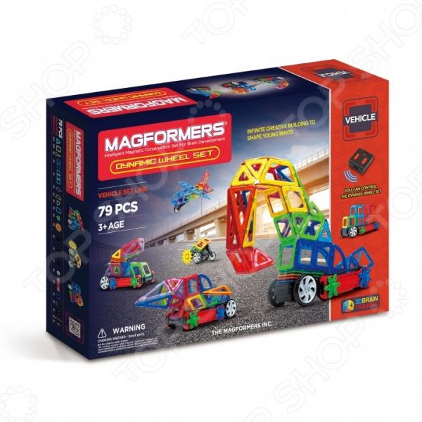 Конструктор магнитный Magformers Dinamic Wheel Set